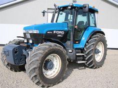 Ford 8670 Danmarks flotteste tractor