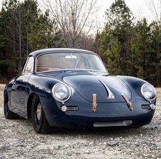 porsche 356 — elegant-apparatus: Perfection… 📷 via. Cool Sports Cars, Sport Cars, Race Cars, Cool Cars, Porsche Classic, Classic Cars, Porsche 356 Outlaw, Porsche 356 Speedster, Porsche 356a