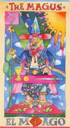 The Magus (The Magician) - Napo Tarot