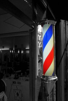 Señal de Peluquería (Caramelo) ~ Barber shop sign (Candy stick) | Flickr - Photo Sharing!