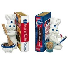 Pillsbury Doughboy? Bookends