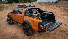 Chevrolet has blown the wraps off the Colorado Xtreme, a thinly disguised study for the upcoming facelift of the international version of GM's pickup truck, at the 37th Bangkok International Motor Show in Thailand.