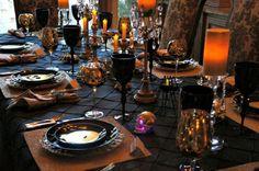 deco table halloween - deco de table