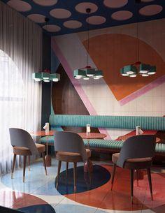CIRCLEcafe design project #retrohomedecor