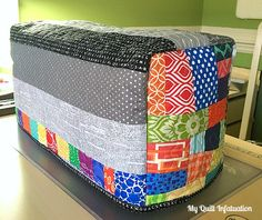 Happy, Scrappy Sewing Machine Cover