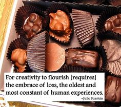 Opening doors with creativity and chocolate