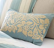 Nidhi Embroidered Lumbar Pillow Cover