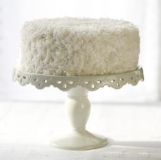 Crack open a coconut and make this fresh Coconut Cake from scratch. It's worth it.