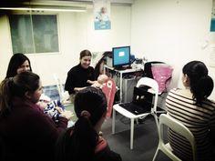 Maternity and birth preparation in the  #pharmacy Preparación al parto y cuidados del bebe ; talleres en la farmacia