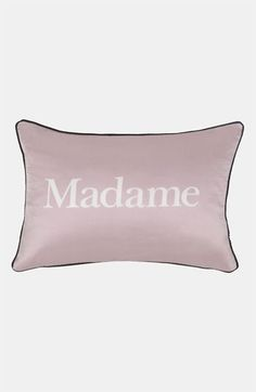 Blissliving Home 'Madame' Reversible Pillow (Online Only) available at #Nordstrom For me!
