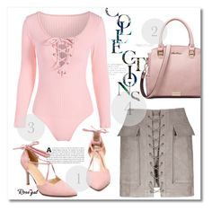 """""""Rosegal!"""" by jenny007-281 ❤ liked on Polyvore featuring polyvoreeditorial"""