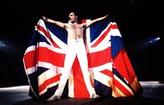 Freddie Mercury GB flag