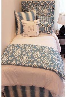 Beautiful Blue Designer Teen U0026 Dorm Bed In A Bag Part 73
