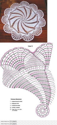 Crochet Doily Patterns 42747 Patterns of crochet doilies. Mandala Au Crochet, Crochet Doily Diagram, Crochet Doily Patterns, Crochet Chart, Thread Crochet, Crochet Motif, Crochet Designs, Crochet Lace, Crochet Stitches
