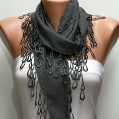 Gray Scarf *    Fatwoman, $13.50