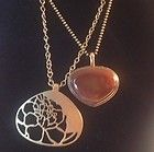 2 Kenneth Cole Necklaces Brushed Gold-tone Agate? NWOT - Agate, Brushed, Cole, GoldTone, Kenneth, necklaces., NWOT - http://designerjewelrygalleria.com/kenneth-cole/kenneth-cole-necklaces/2-kenneth-cole-necklaces-brushed-gold-tone-agate-nwot/