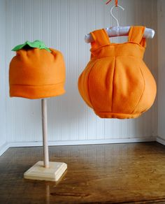 Infant Pumpkin Costume by janiegirlcrafts, via Flickr