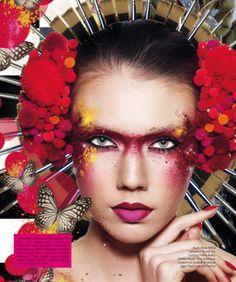 Maquiagem Artística | Artistic Makeup from M Make Up Store (revista)