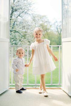 Cutie Princess Estelle and Prince Oscar