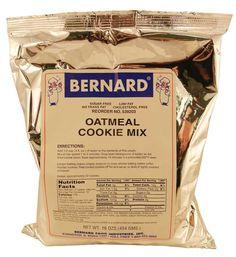 Oatmeal Cookie Mix - Bernard - 16 oz.