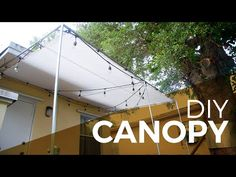 How to install a Canopy with Regular and Electrical Fittings - DIY - YouTube