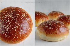 ...konyhán innen - kerten túl...: Hamburgerzsemle Essie, Hamburger, Bread, Food, Essen, Hamburgers, Breads, Baking, Buns