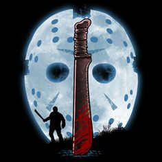 Jason Voorhees - Complete Your Killer Look With These 30 Slasher Movie Inspired T-Shirts Jason Friday, Friday The 13th, Arte Horror, Horror Art, Scary Movies, Horror Movies, Horror Villains, 80s Movies, Jason Viernes 13