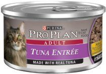 Pro Plan Canned Cat Food, Adult Tuna Entrée, 3-Ounce Cans (Pack of 24)