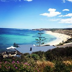 Gnarabup, Margaret River. I've been there twice. This place is beautiful and offer a glimpse of the Australian way of life with a nice coffee place, people surfing, stand-paddling, running and swimming there in the early morning sun.