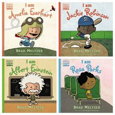 Love this picture book biography series to get kids reading and excited about history!