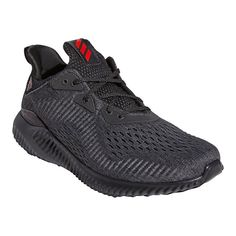 Whether you're lounging around or cooling down after a workout, you'll love sliding into the padded comfort of these men's Alphabounce shoes from adidas. Whether you're lounging around or cooling down after a workout, you'll love sliding into the padded comfort of these men's Alphabounce shoes from adidas. SHOE FEATURES Bounce creates the ideal balance between durability and cushioning, generating multi-directional for any movement Seamless stretchable mesh with areas of fully-integrated support Adidas Men, Adidas Sneakers, Shoes Sneakers, Training Shoes, Scarlet, Shoes Online, Things That Bounce, Perfect Fit, Footwear