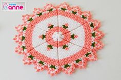 This Pin was discovered by Nir Pot Holders, Elsa, Diy And Crafts, Crochet Earrings, Crochet Patterns, Holiday Decor, Handmade, Youtube, House