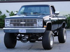 old trucks chevy 85 Chevy Truck, Lifted Chevy Trucks, Chevy Pickups, Jeep Truck, Diesel Trucks, Ford Trucks, Pickup Trucks, Chevy 4x4, Dually Trucks