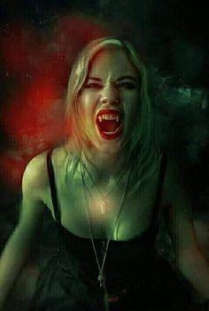 Vampire by Phatpuppyart-Studios on DeviantArt Female Vampire, Vampire Art, Gothic Art, Gothic Girls, Paranormal, Luis Royo, Wolf, Goth Beauty, Cool Photos