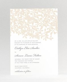 Midsummer Wedding Invitation