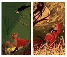 Afbeeldingsresultaat voor the fox and the crow