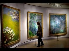 Claude Monet Art Museums Full HD 1080i - YouTube