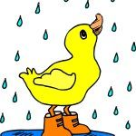 Free Image on Pixabay - Baby, Bird, Duck, Rain, Boots Rain Clipart, Rain Poems, Rhymes Lyrics, English Rhymes, Color Songs, Baby Ducks, Free Cartoons, Cute Images, Free Baby Stuff
