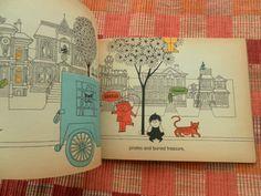 Nothing Ever Happens On My Block by Ellen Raskin vintage book 1967