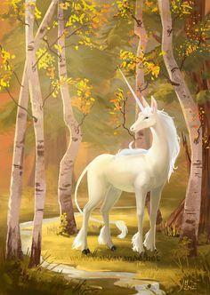 Unicorn by Valyavande on DeviantArt