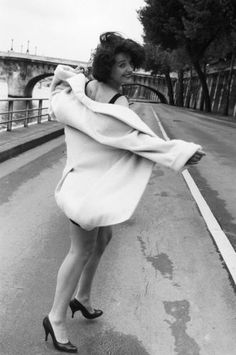 Juliette Binoche by Robert Doisneau, 1991