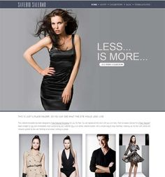 Clothing website. template clothing website. example free clothing ...