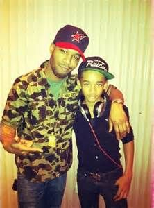 """Jaden Smith...like father like son...Remember when Will Smith sang """"See me on the fifty yard line with the Raiders"""""""