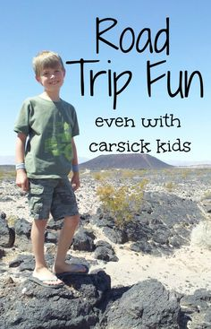 Tips for enjoying a road trip with carsick kids