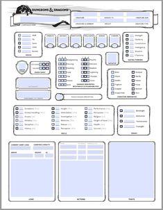 D&D 5e companion sheet