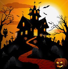 Casa Halloween, Halloween Artwork, Halloween Painting, Halloween Items, Halloween Pictures, Halloween Signs, Halloween Wallpaper, Holidays Halloween, Halloween Pumpkins