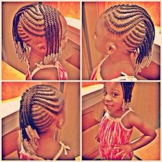 Cute braids with beads...