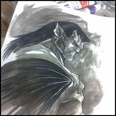 Goliath from Gargoyles- one of my fave shows!! #goliath #gargoyles #disney #disneygargoyles #davidxanatos #davidandgoliath