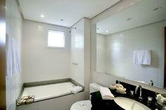 Banheiro da suite do Absoluto Pinheiros