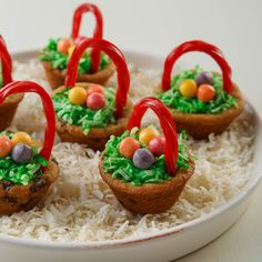 These adorable Chocolate Chip Easter Baskets are a special springtime treat to be remembered.